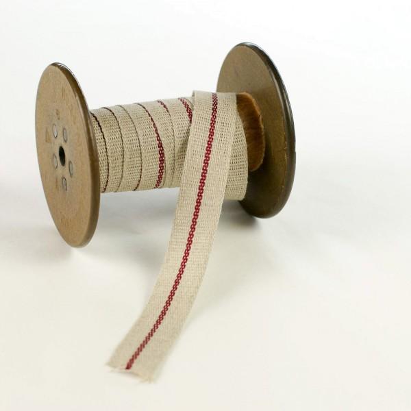 20mm Decorative flax ribbon