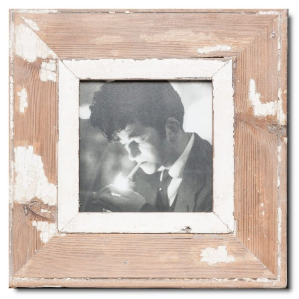 Altholz Bilderrahmen Quadrat für Bildgröße 14,8 x 14,8