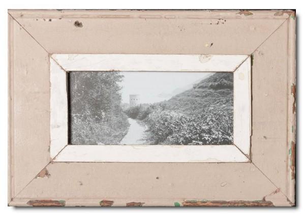 Panorama Bilderrahmen aus recyceltem Holz von Luna Designs