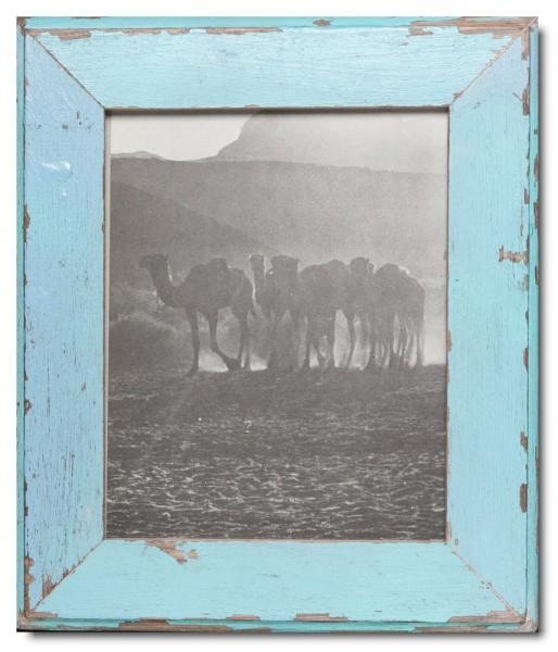 Basic Bilderrahmen aus recyceltem Holz für Fotoformat 20 x 25 cm aus Kapstadt