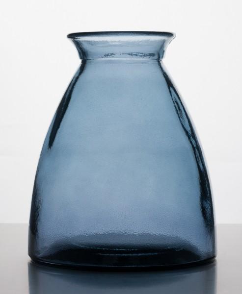 Vase Blau / Grau