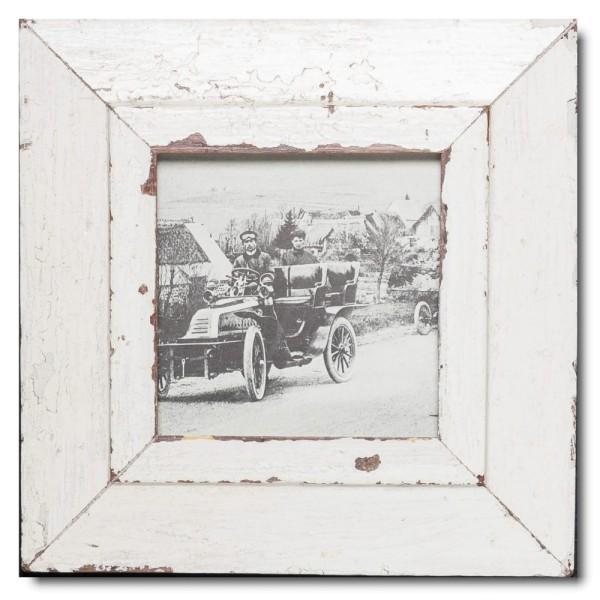 Quadrat Bilderrahmen aus recyceltem Holz für Fotogröße 14,8 x 14,8 aus Kapstadt