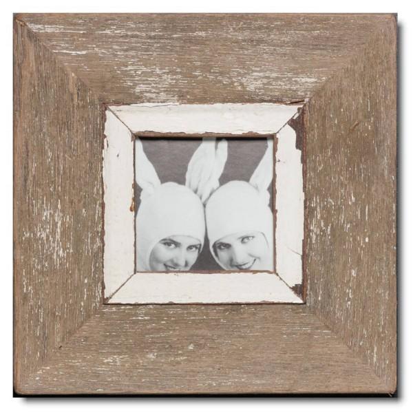 Quadratischer Vintage Bilderrahmen für Bildformat DIN A6 Quadrat