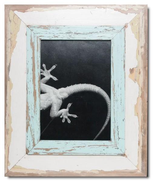 Breiter Altholz Bilderrahmen für Fotogröße 29,7 x 21 cm aus Kapstadt