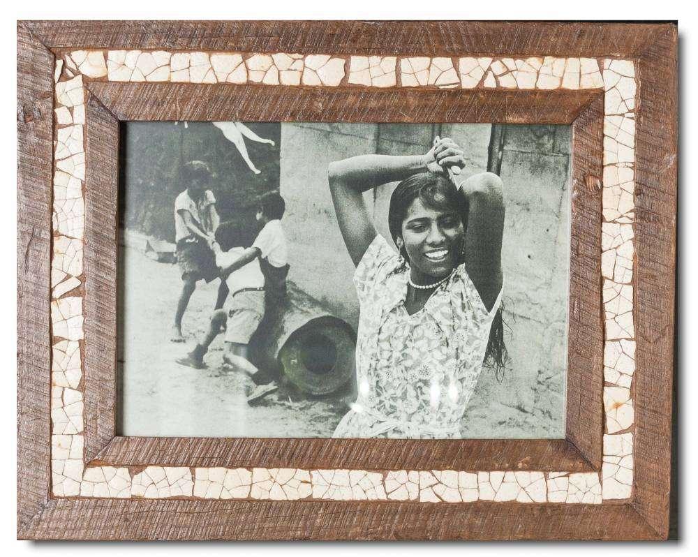 Vintage Bilderrahmen Straußenei-Mosaik für Bildformat DIN A4 | Cape ...