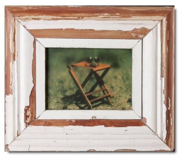 Vintage Bilderrahmen mit breitem Rand für Fotogröße 21 x 14,8 cm