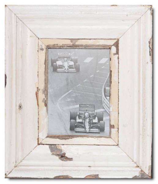 Breiter Altholz Bilderrahmen für Fotogröße 21 x 14,8 cm von Luna Designs