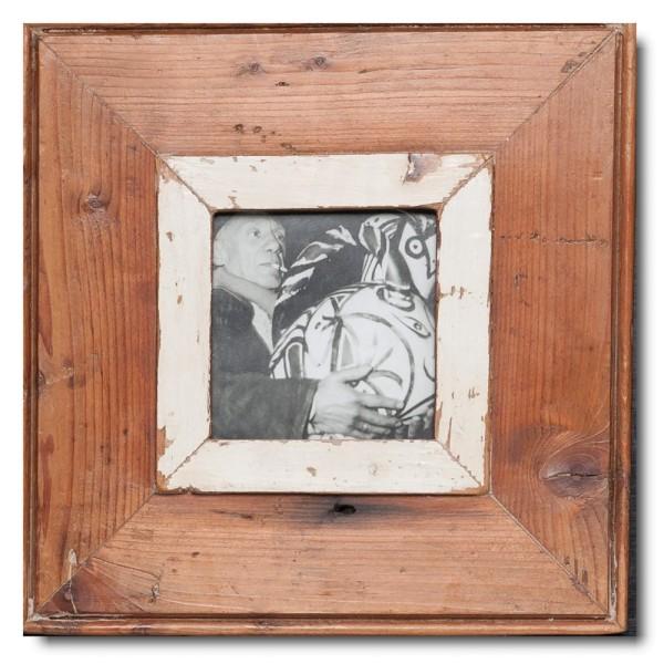 Altholz Bilderrahmen Quadrat für Bildformat 10,5 x 10,5
