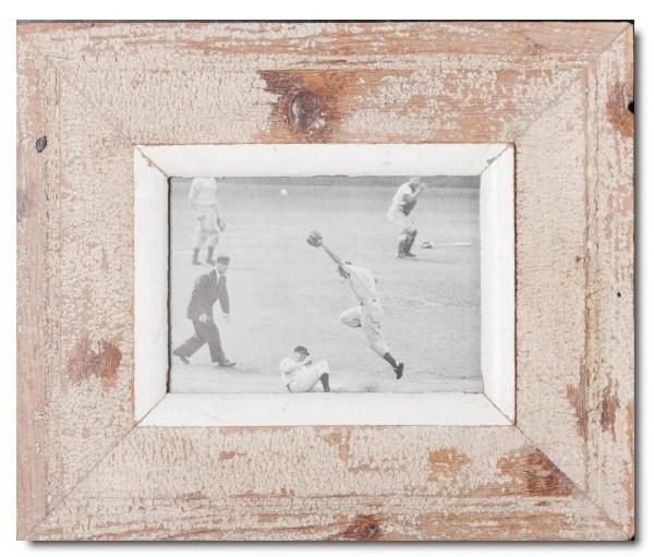 Breiter Bilderrahmen aus recyceltem Holz