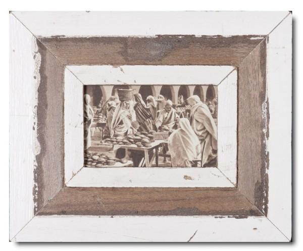 Bilderrahmen aus recyceltem Holz für Bildgröße 10,5 x 14,8 cm von Luna Designs
