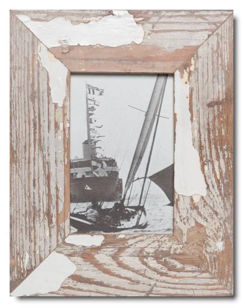 Basic Bilderrahmen aus recyceltem Holz für Fotoformat 10 x 15 cm aus Südafrika