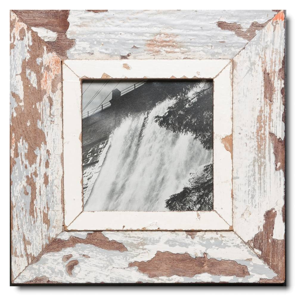 Altholz Bilderrahmen Quadrat für Fotoformat 14,8 x 14,8 | Cape Times