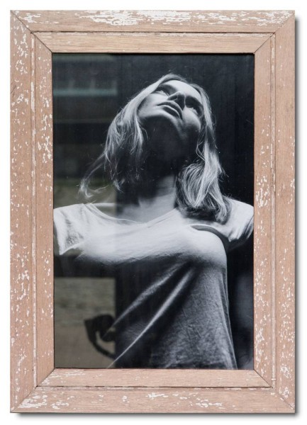 Vintage Bilderrahmen Basic für Fotogröße 25 x 38 cm aus Südafrika