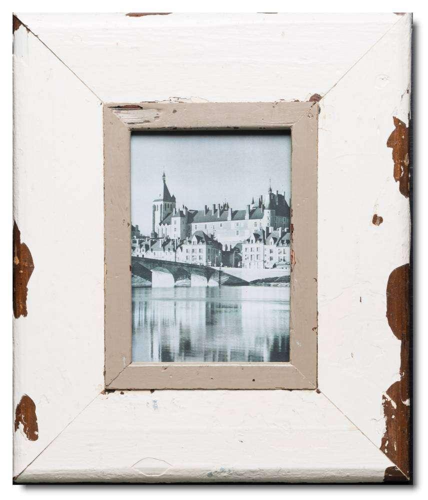 Vintage Bilderrahmen mit breitem Rand für Fotoformat 21 x 14,8 cm ...