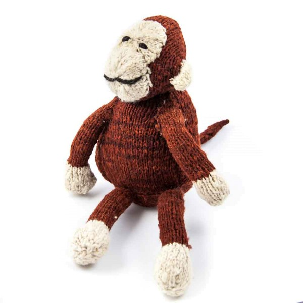 Sitting Woolen Monkey