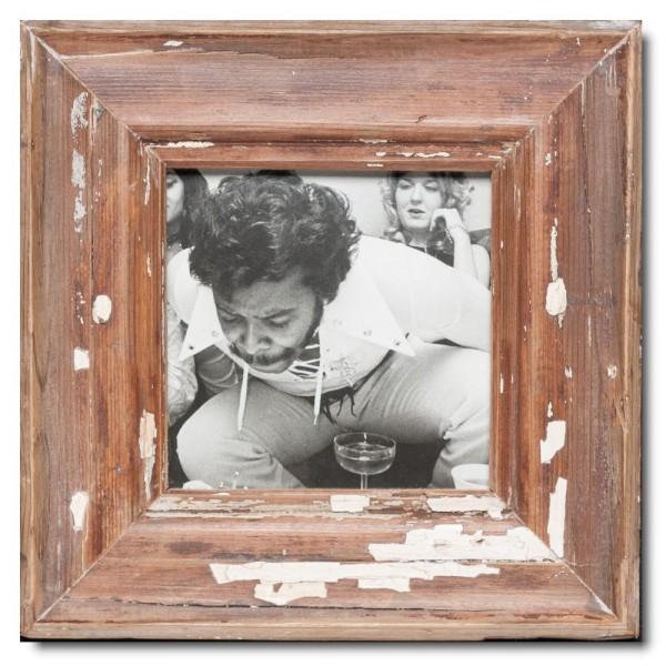 Altholz Bilderrahmen Quadrat für Bildgröße 14,8 x 14,8 aus Kapstadt
