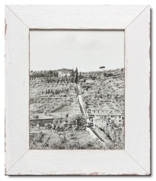 Basic Bilderrahmen aus recyceltem Holz für Fotoformat 20 x 25 cm aus Südafrika